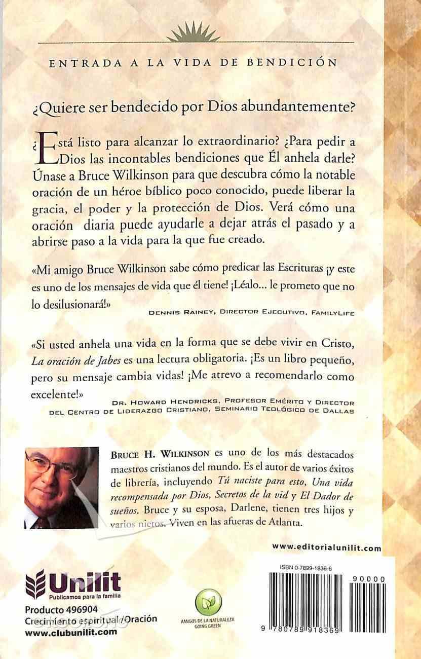 La Oracion De Jabes (The Prayer Of Jabez) Paperback