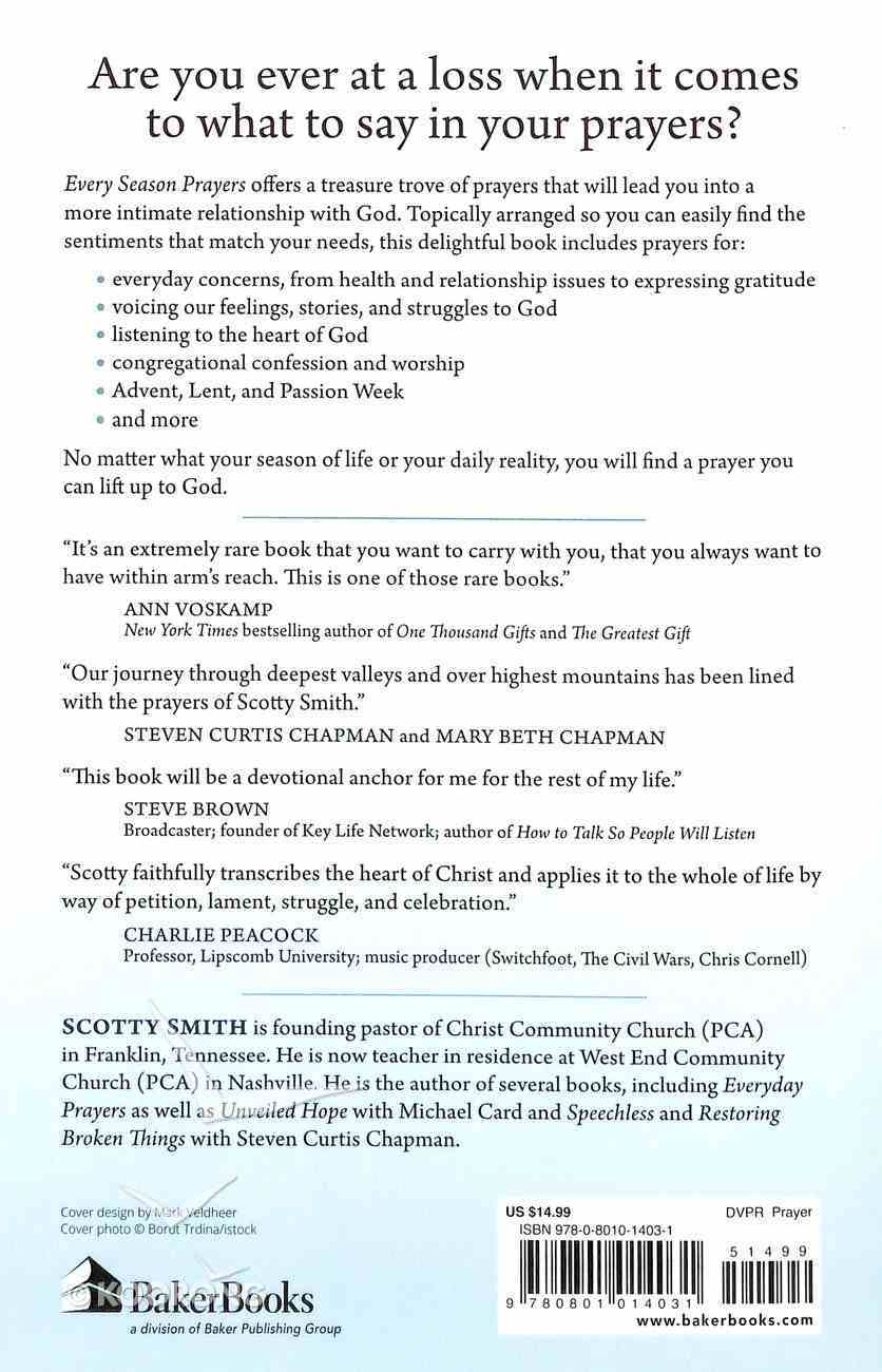 Every Season Prayers Paperback