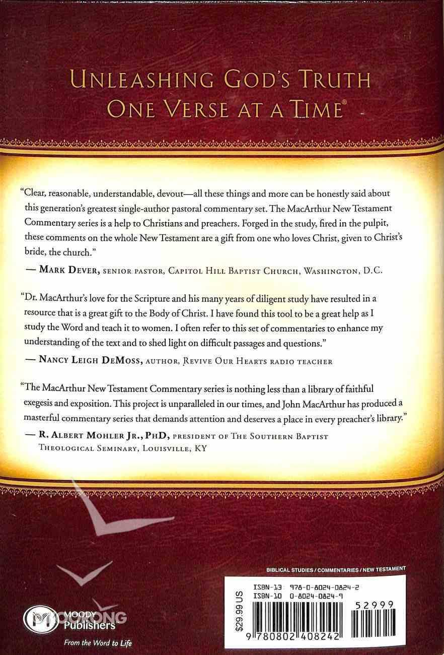 John 12-21 (Macarthur New Testament Commentary Series) Hardback