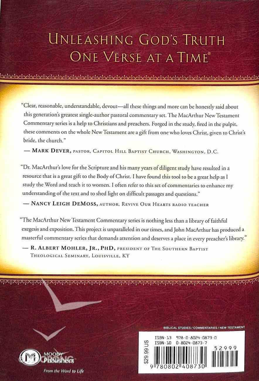 Luke 11-17 (Macarthur New Testament Commentary Series) Hardback