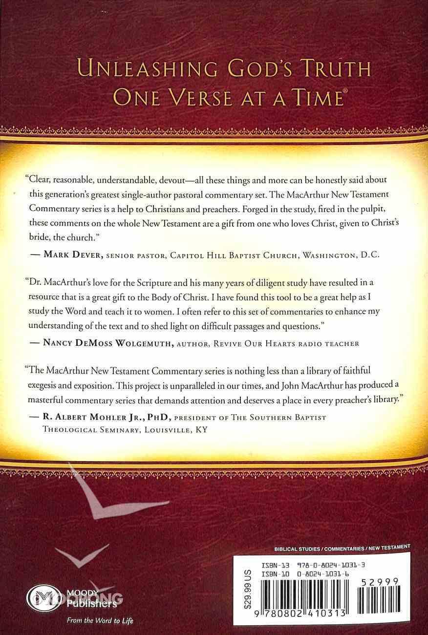 Mark 9-16 (Macarthur New Testament Commentary Series) Hardback