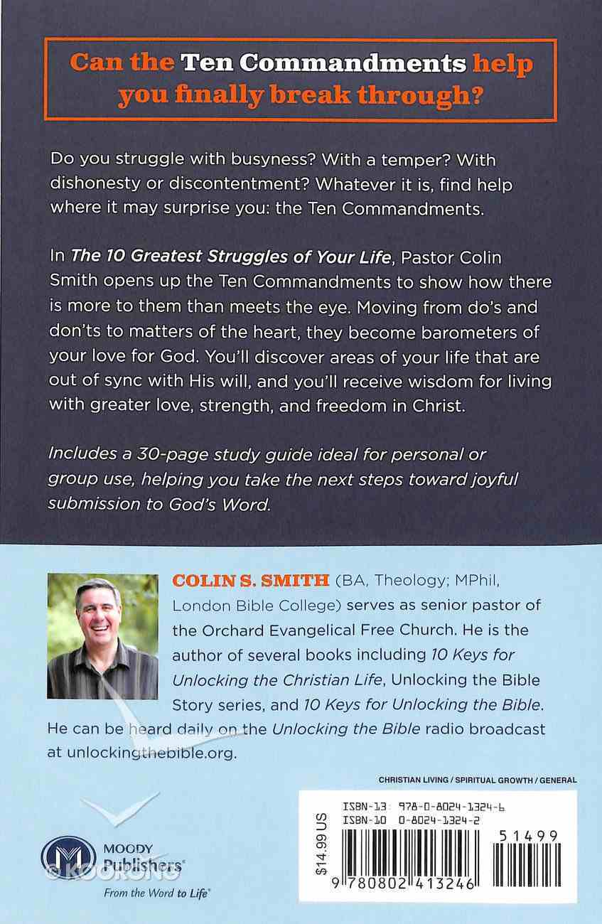 The 10 Greatest Struggles of Your Life Paperback