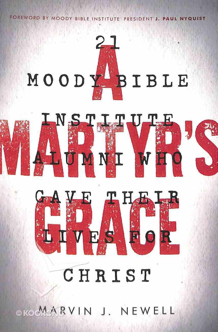 A Martyr's Grace Paperback