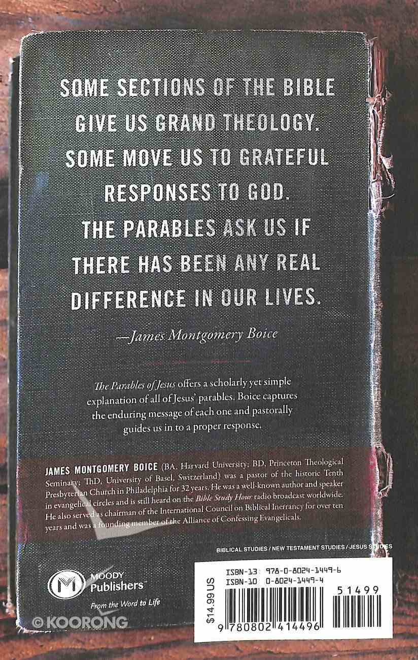 The Parables of Jesus Paperback