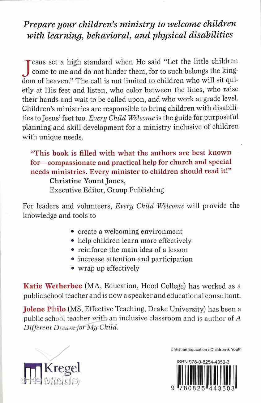 Every Child Welcome Paperback