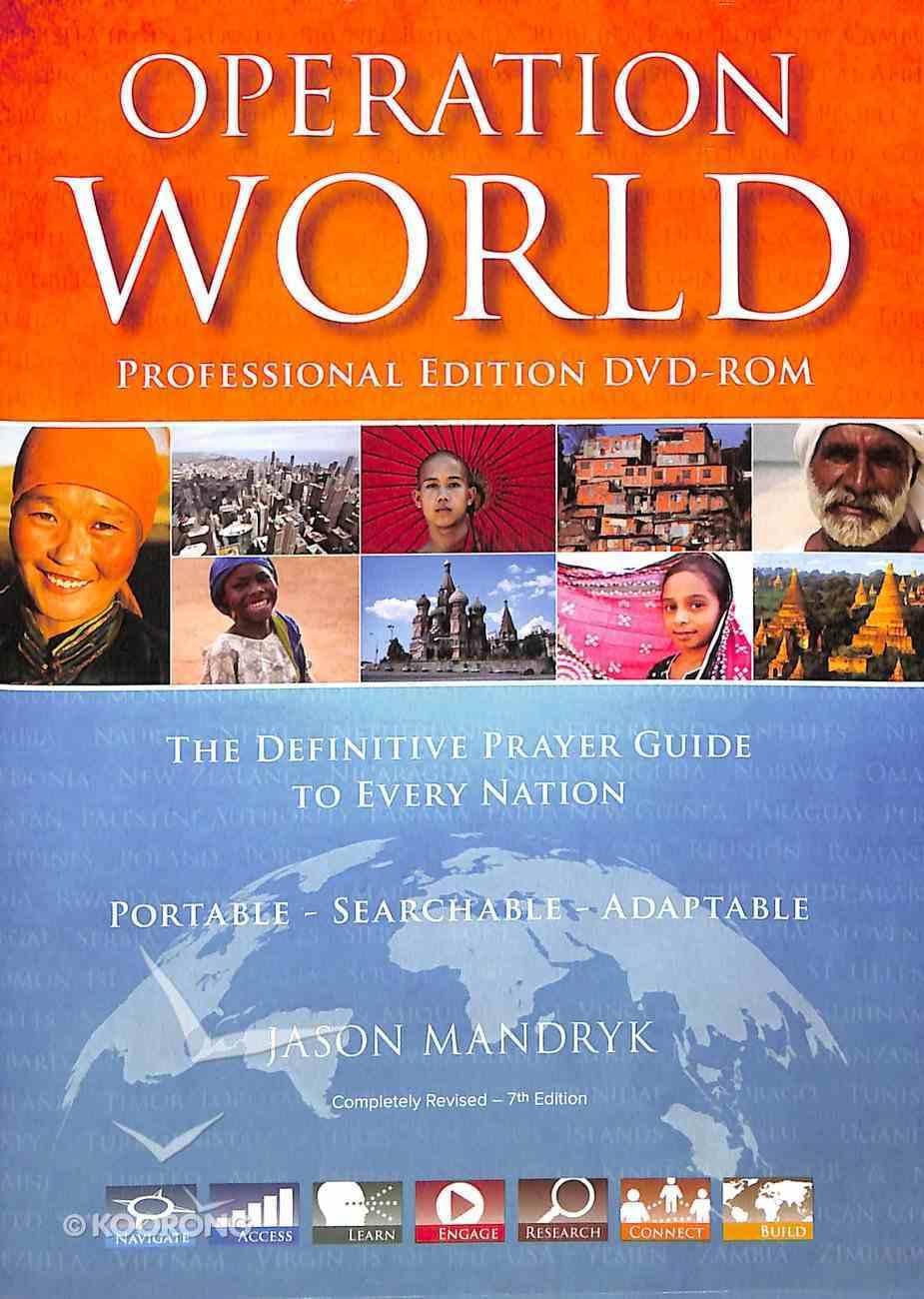 Operation World Professional Edition (7th Edition) (Dvd-rom) Dvd-rom