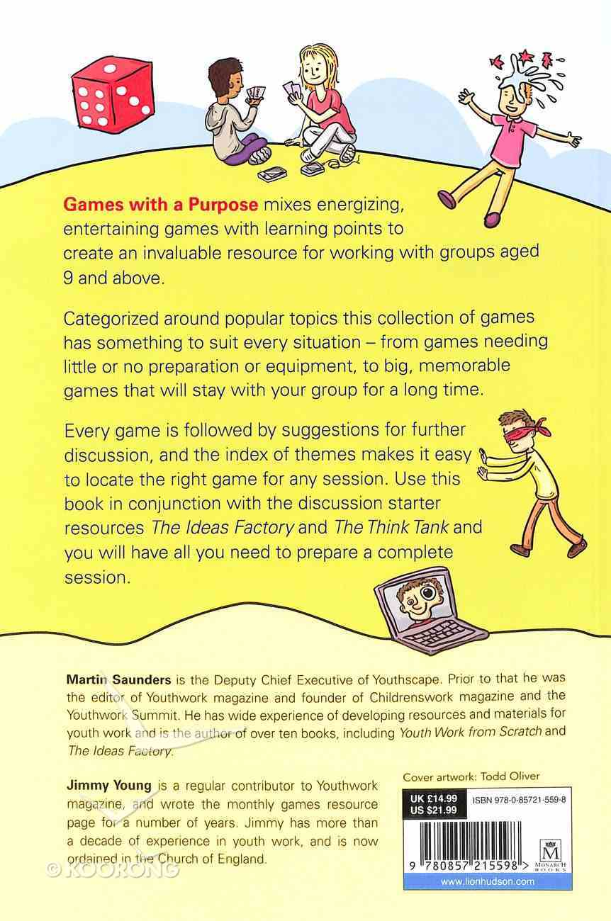 Games With a Purpose Paperback