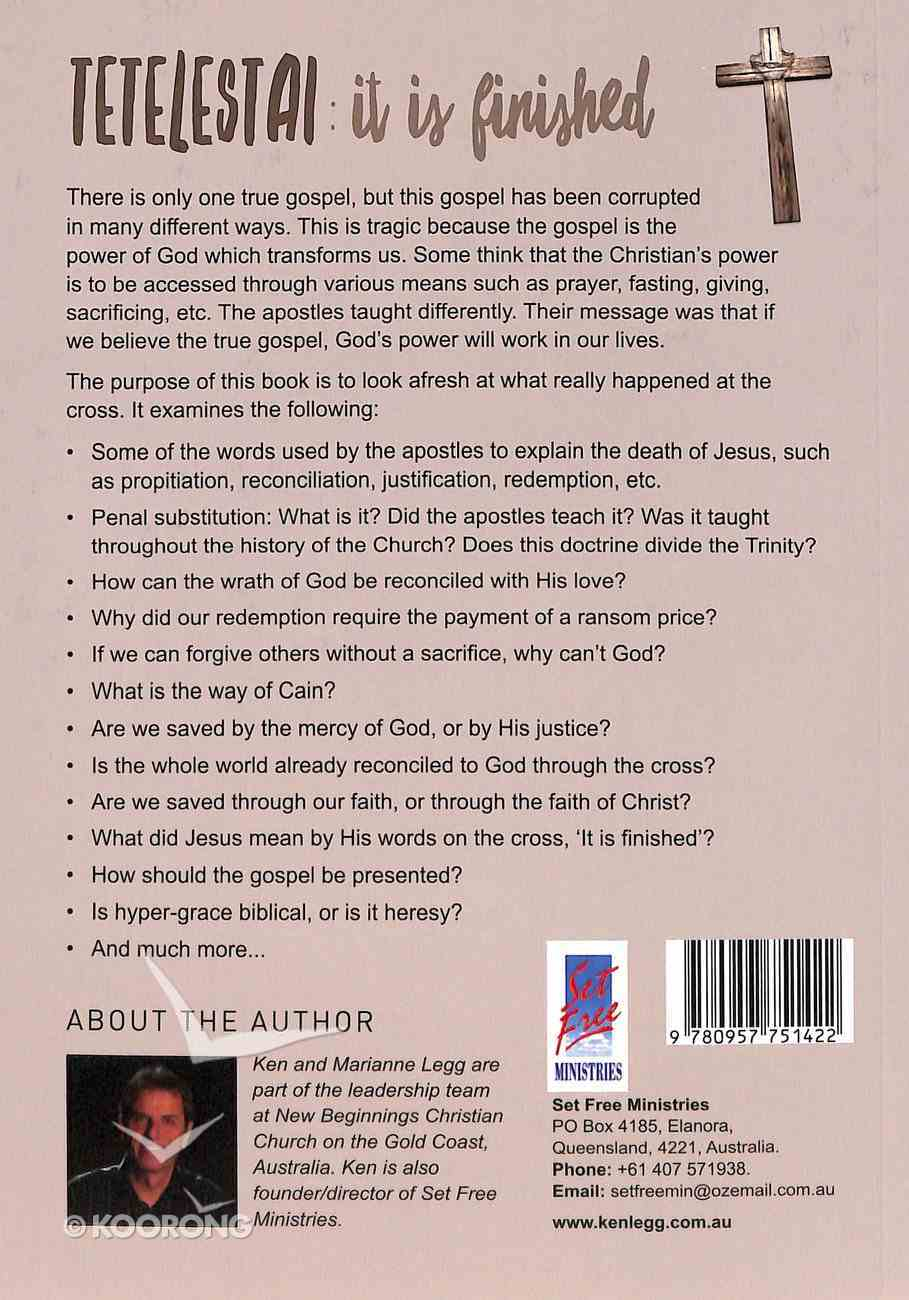 Tetelestai: It is Finished! (#10) Paperback