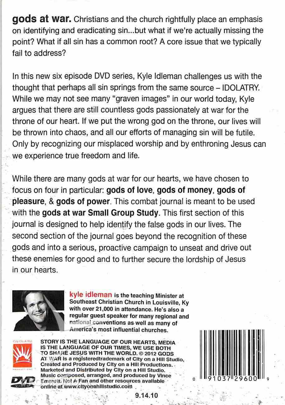 Gods At War Combat Journal (Participant Guide) Paperback