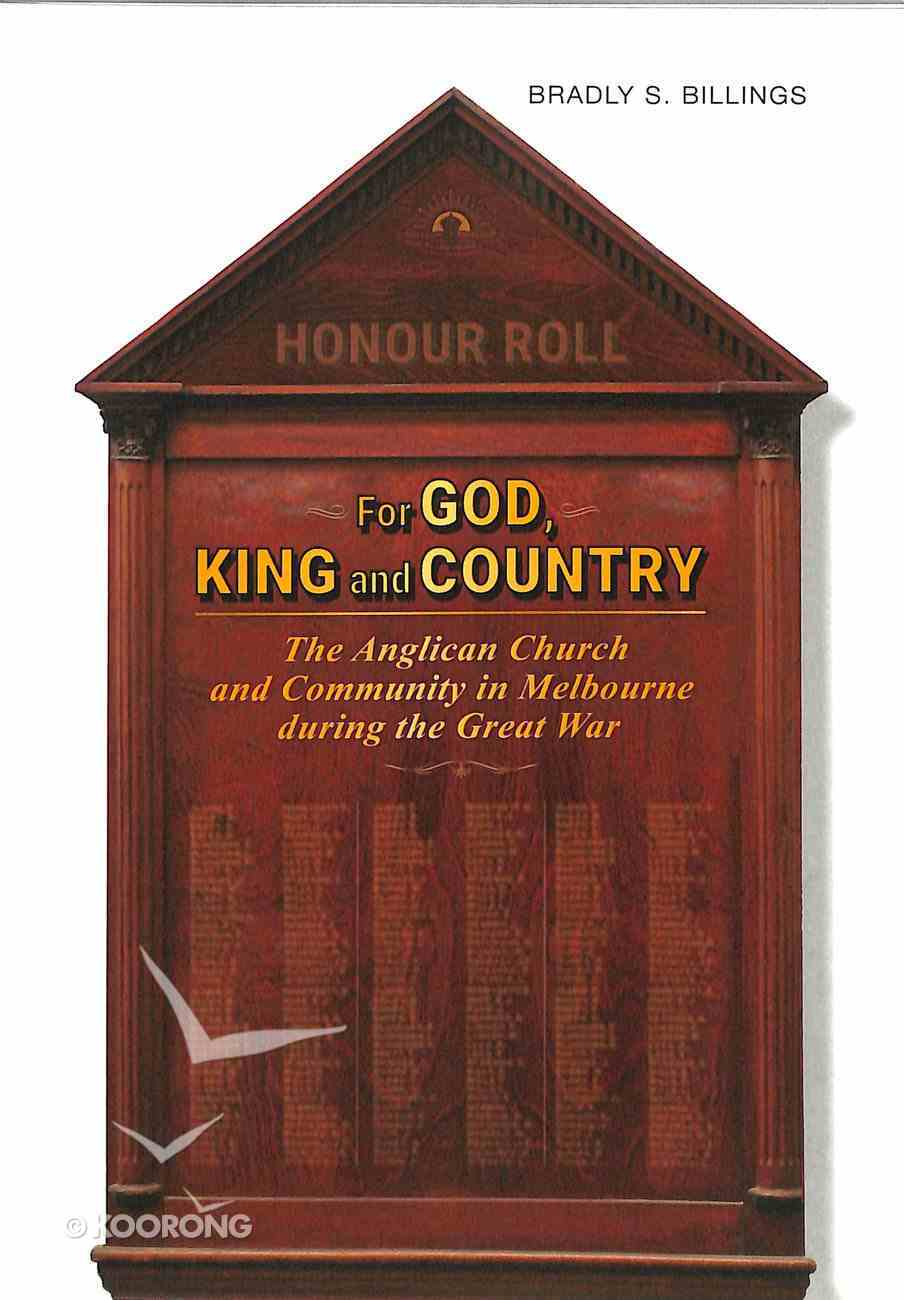 For God, King and Country Paperback