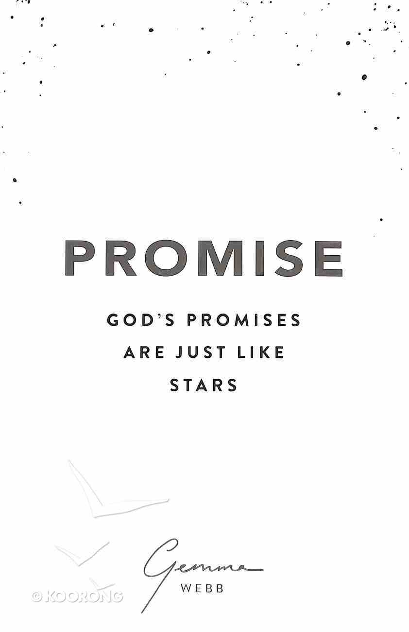 Promise: God's Promises Are Just Like Stars Paperback