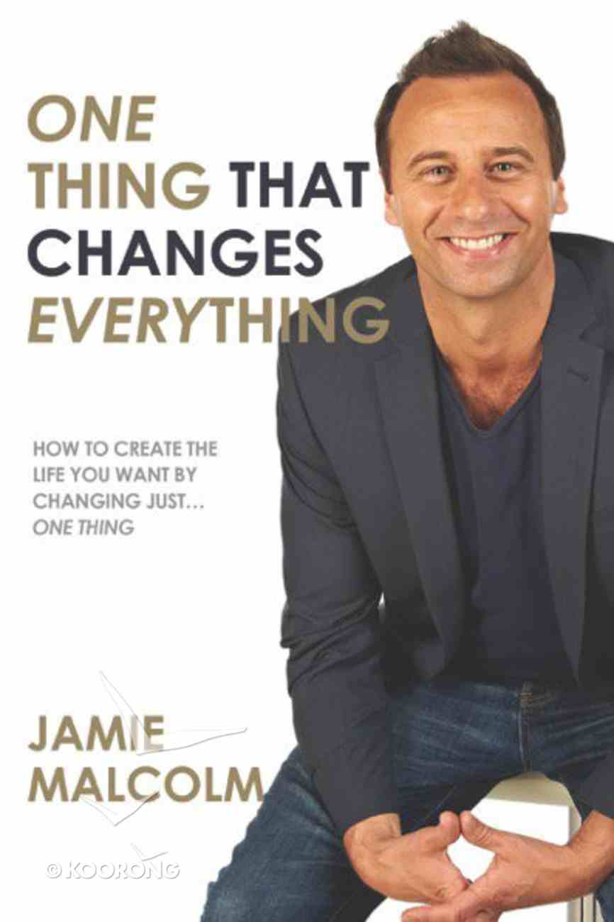 One Thing That Changes Everything Paperback