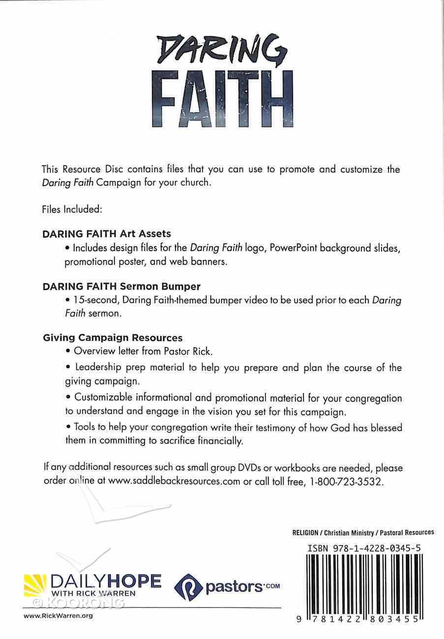 Daring Faith: Campaign Resource CDROM CD-rom