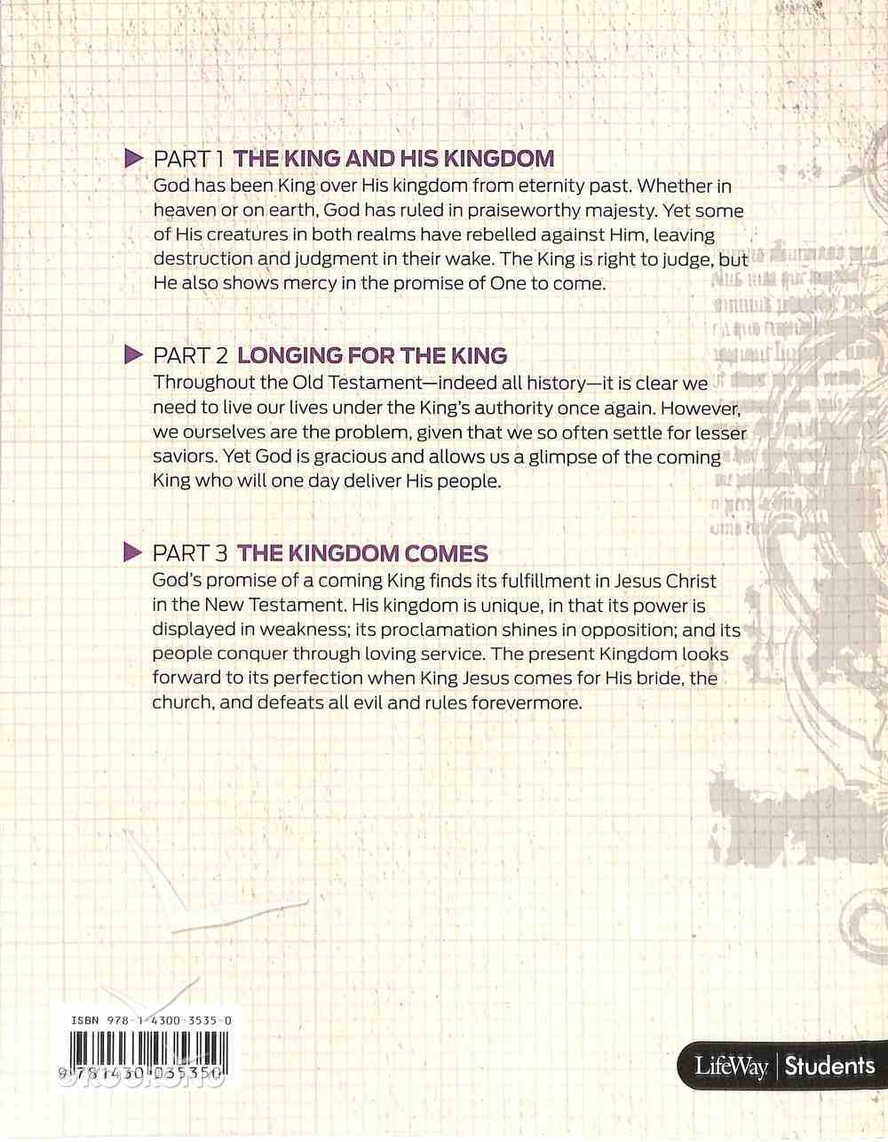 The Story of God's Kingdom (Study Guide) (#09 in Gospel Project For Students Series) Paperback
