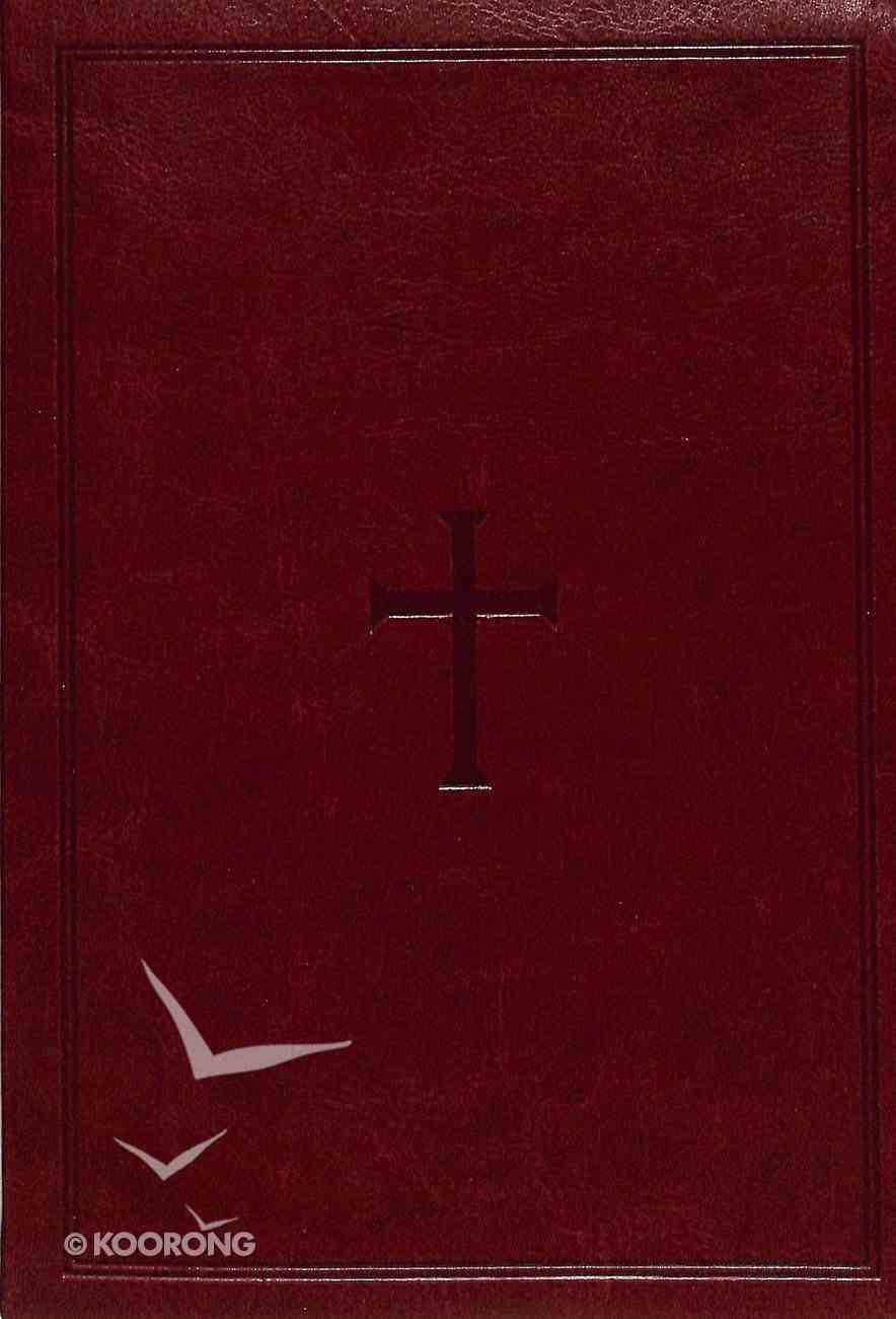 KJV Deluxe Gift Bible Brown Leathertouch Imitation Leather