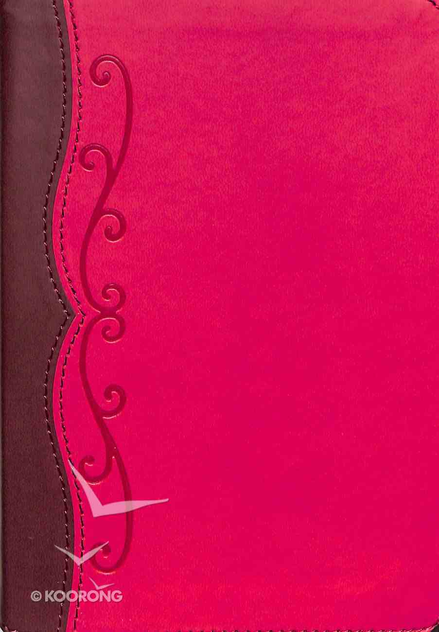 HCSB Compact Ultrathin Bible For Teens Fuchsia Leathertouch Imitation Leather