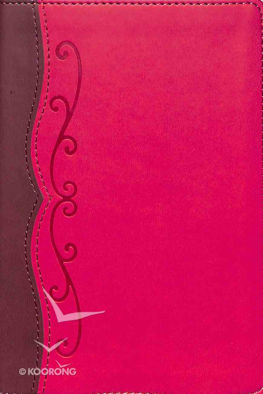 NKJV Compact Ultrathin Bible For Teens Fuchsia Leathertouch Imitation Leather