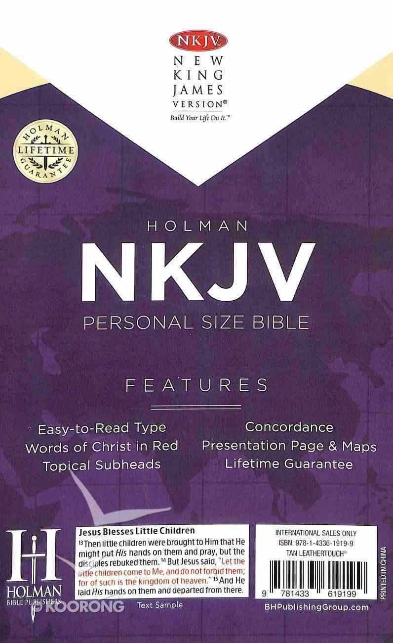 NKJV Personal Size Bible Tan Imitation Leather