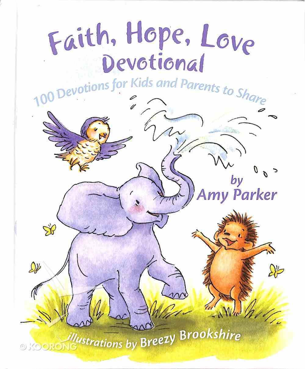 Faith, Hope, Love Devotional Padded Hardback