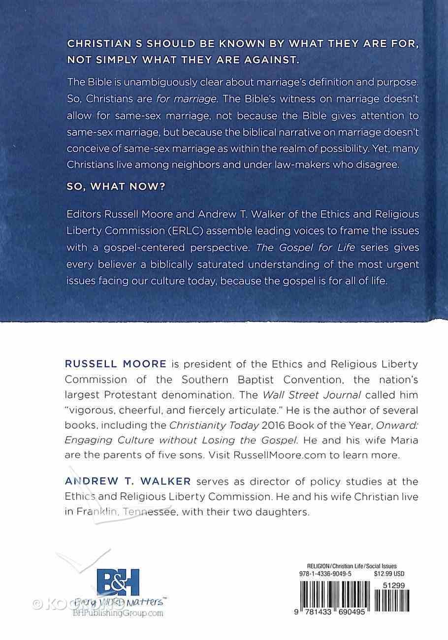 The Gospel & Same-Sex Marriage (Gospel For Life Series) Hardback