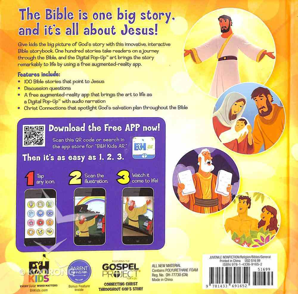 It's All About Jesus Bible Storybook Padded Hardback