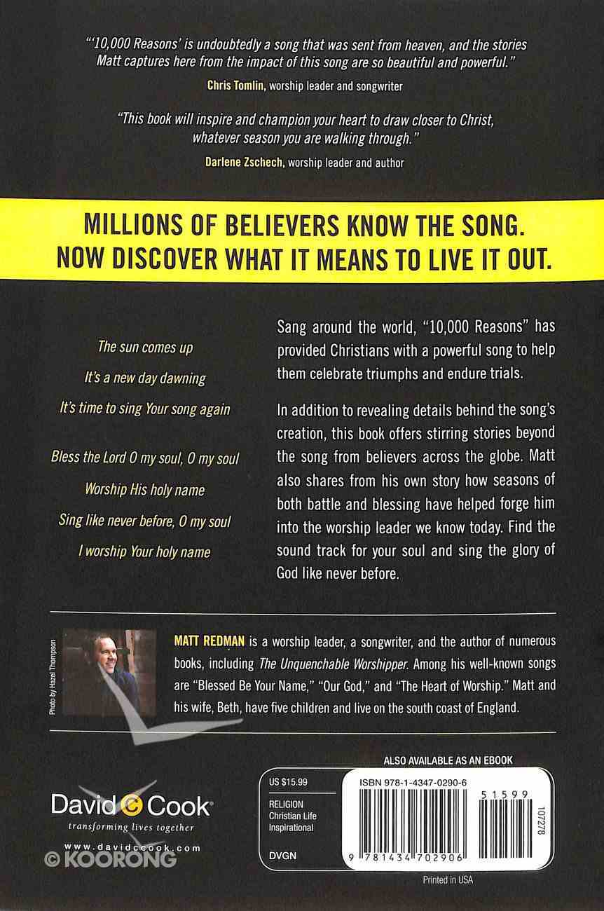 10,000 Reasons (Bless The Lord) Paperback