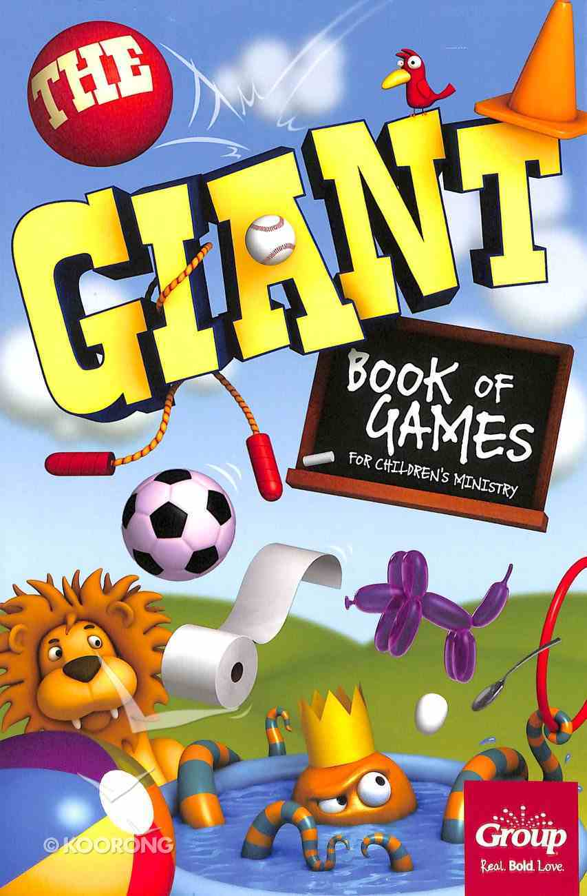 The Giant Book of Games For Children's Ministry Paperback