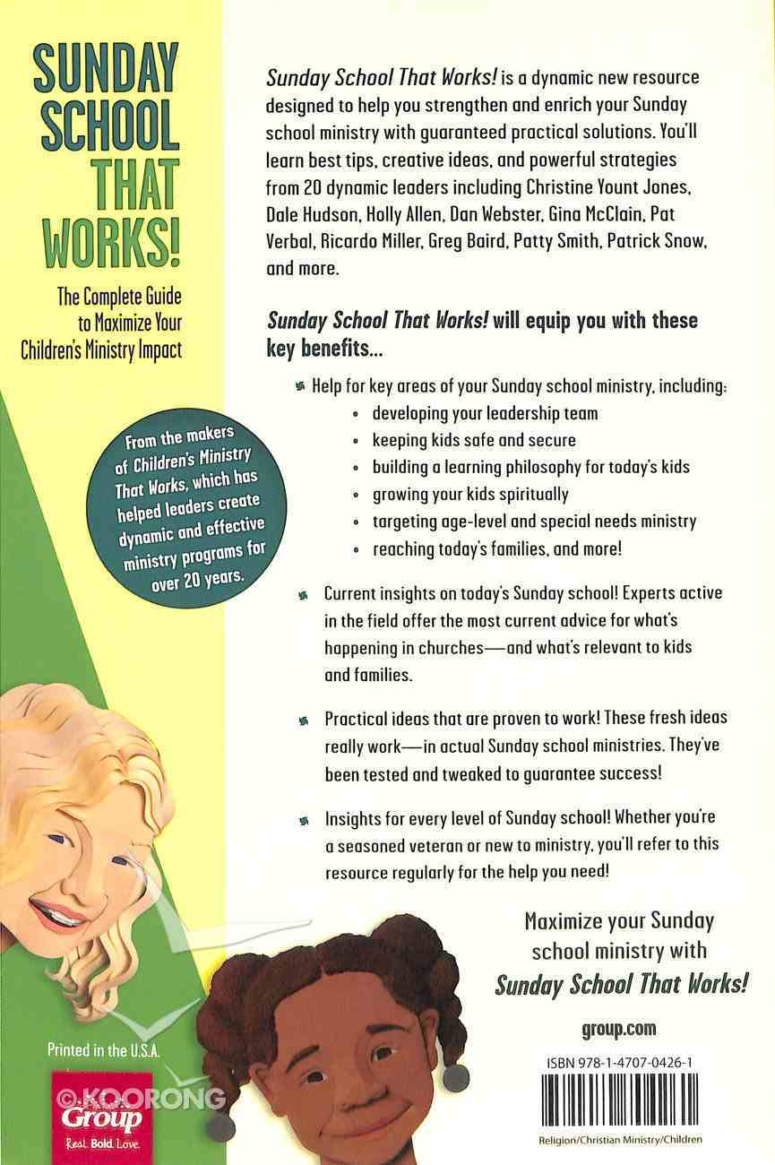Sunday School That Works! Paperback