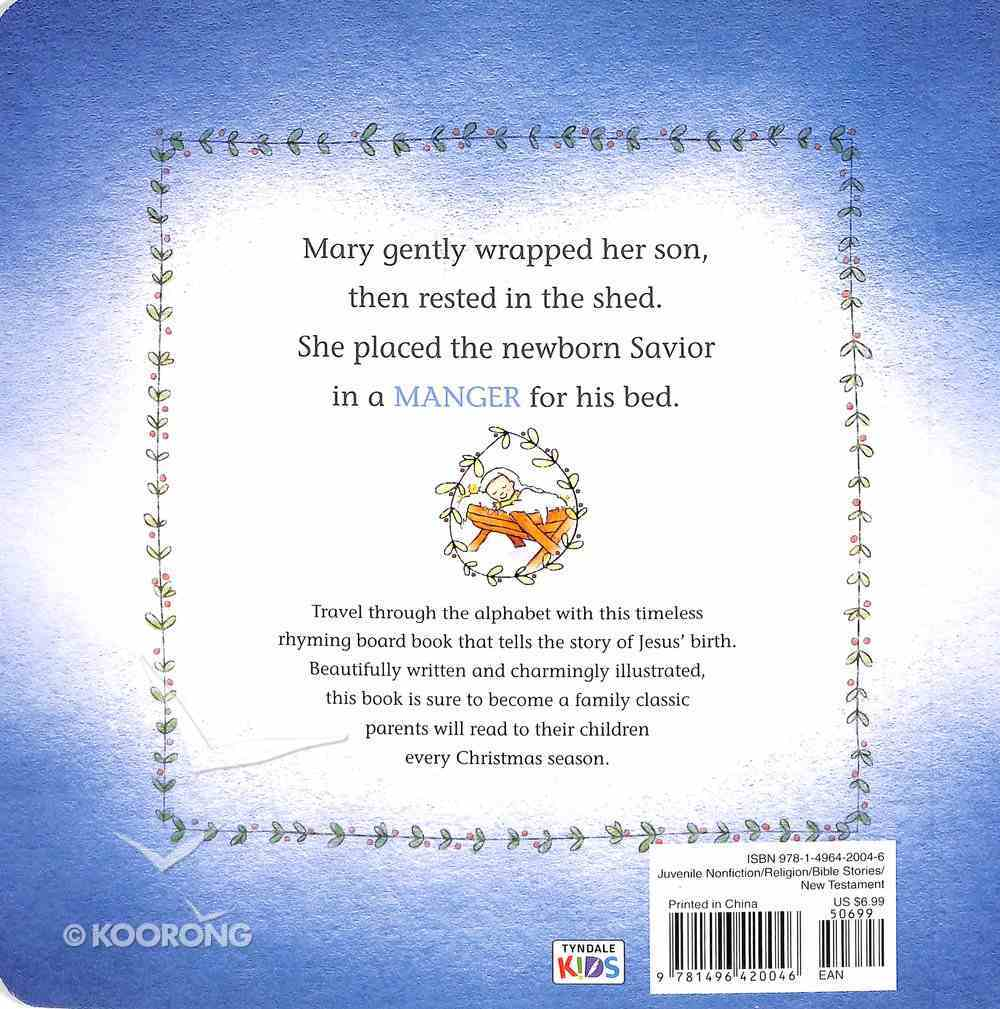 Is For Manger Board Book