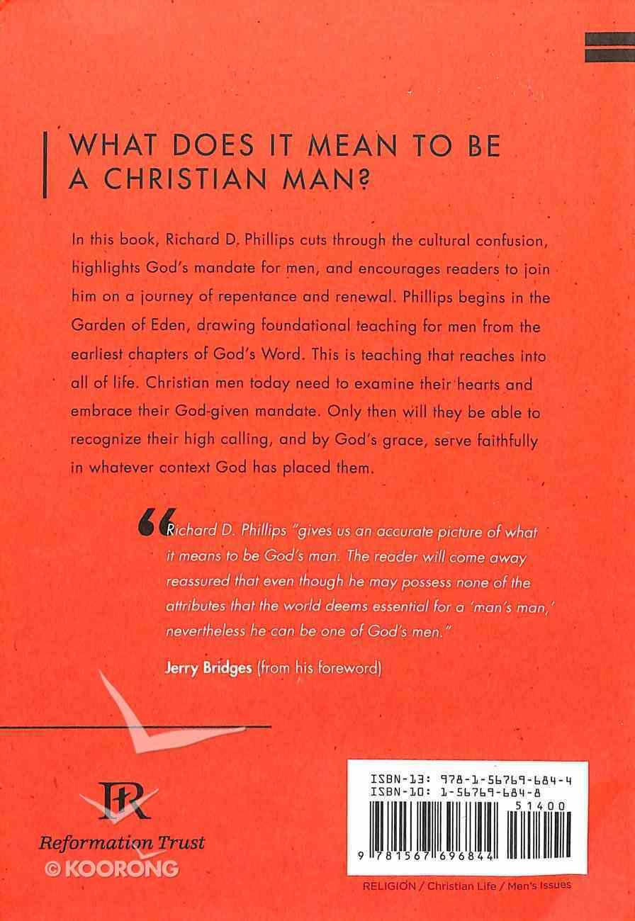 Masculine Mandate: God's Calling to Men Paperback