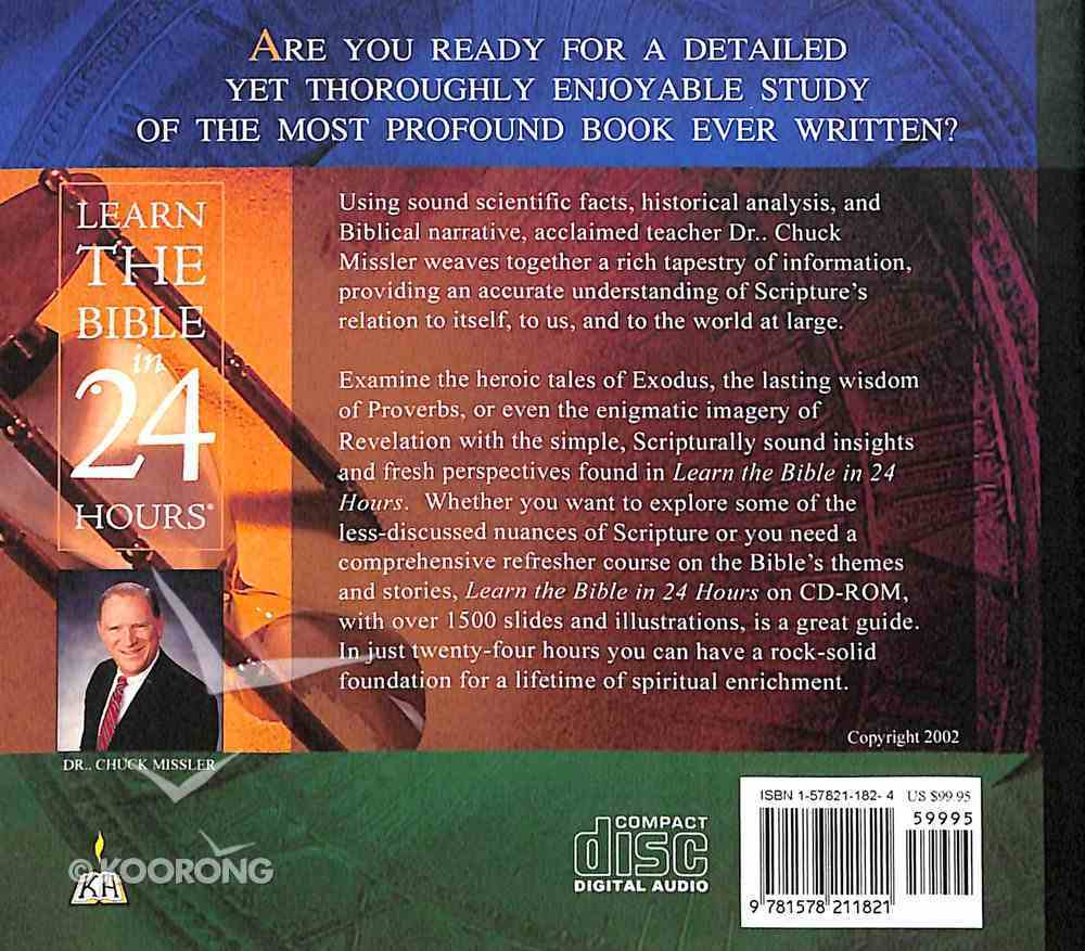 Learn the Bible in 24 Hours (Updated) (24 Cds) CD