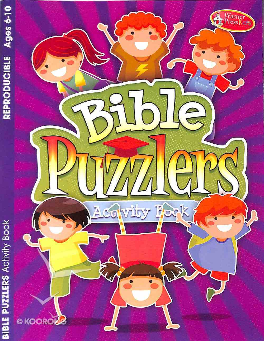 Bible Puzzlers 6-10 (Reproducible) (Warner Press Colouring & Activity Books Series) Paperback