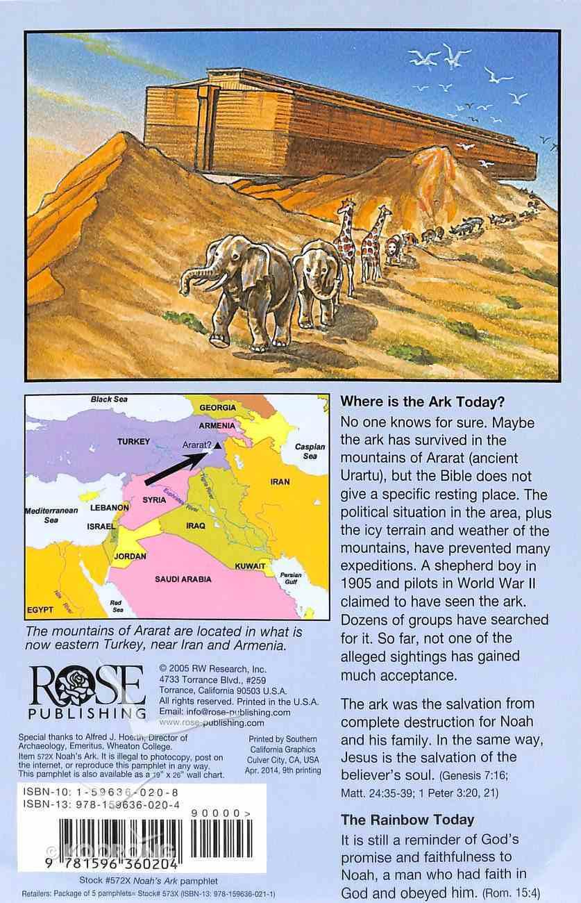 Noah's Ark (Rose Guide Series) Pamphlet