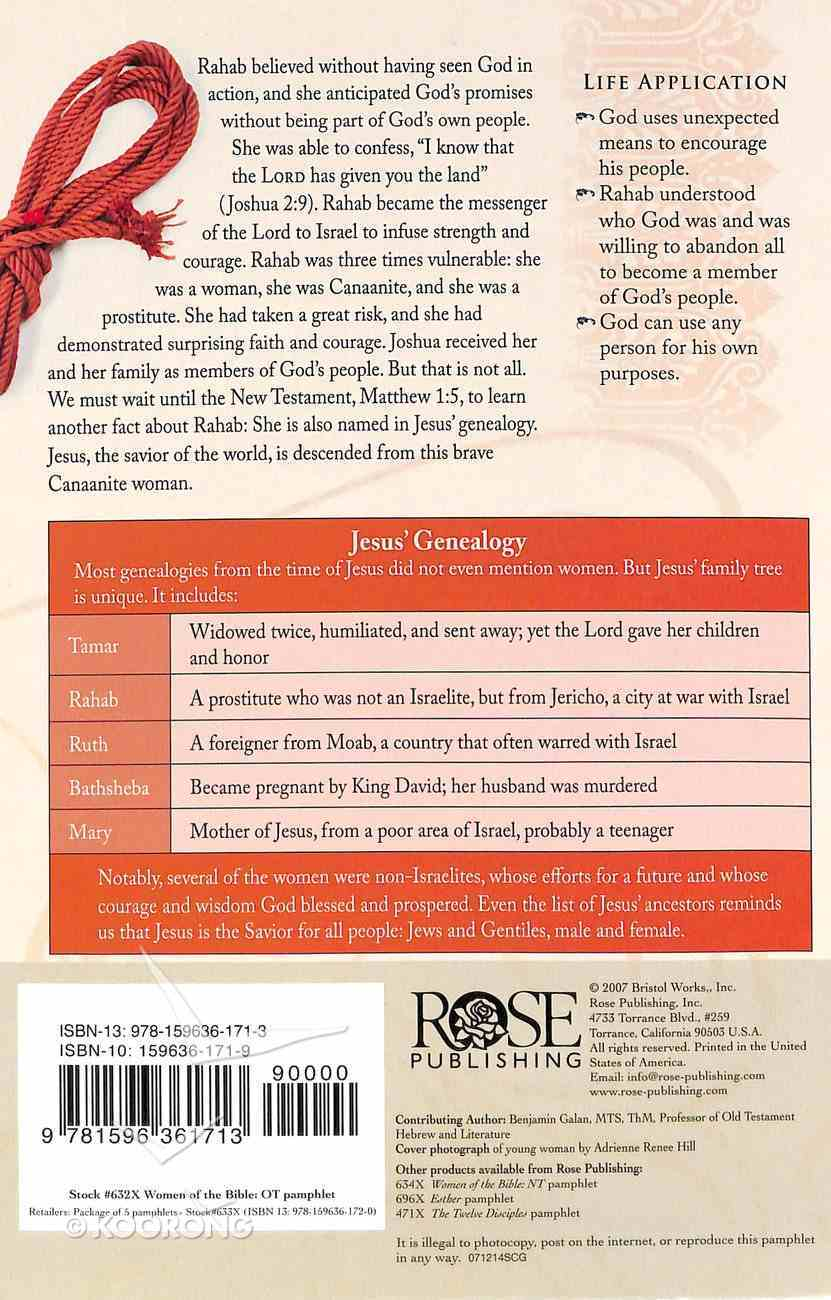 Women of the Bible Old Testament (Rose Guide Series) Booklet