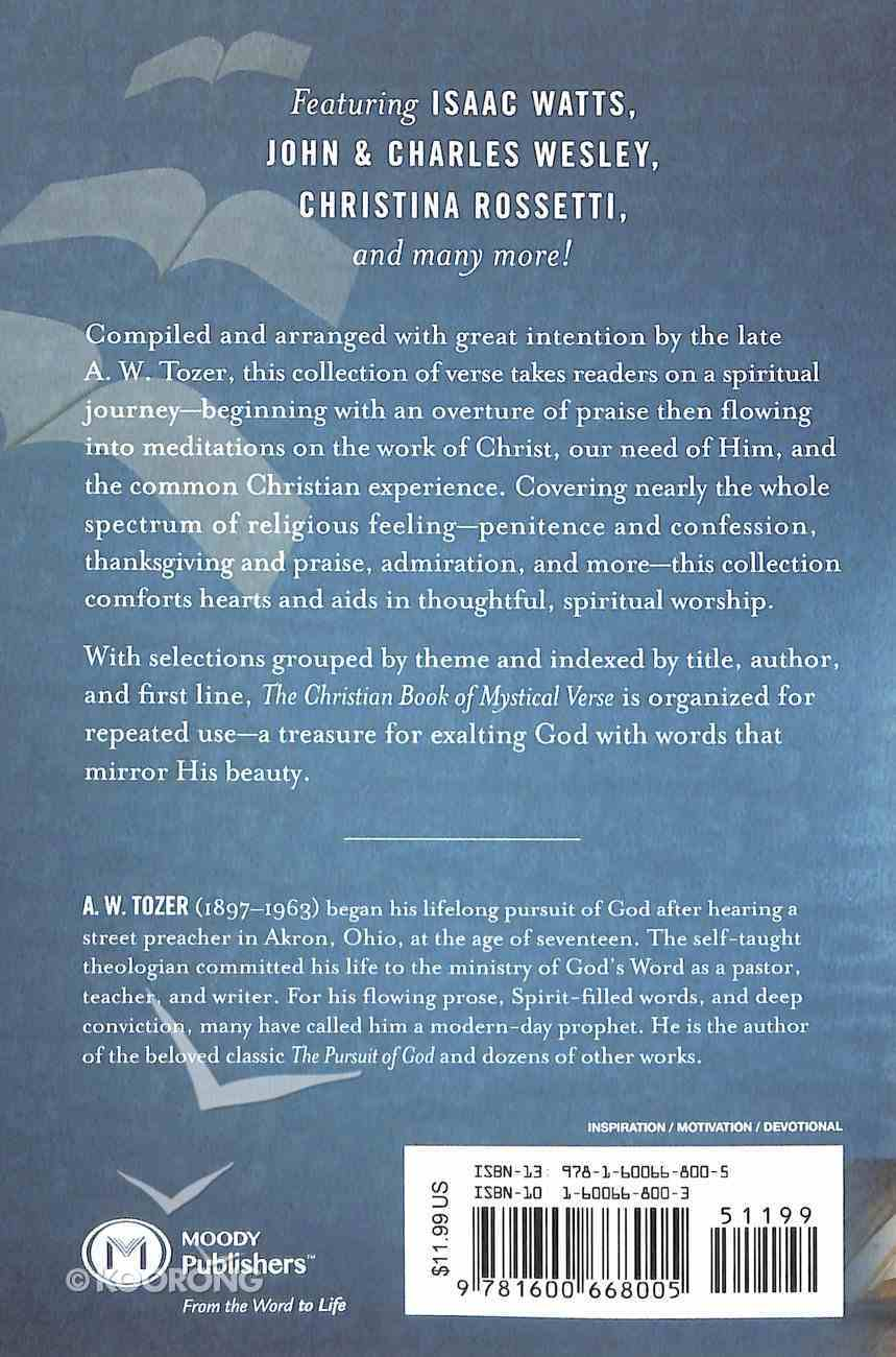 The Christian Book of Mystical Verse Paperback