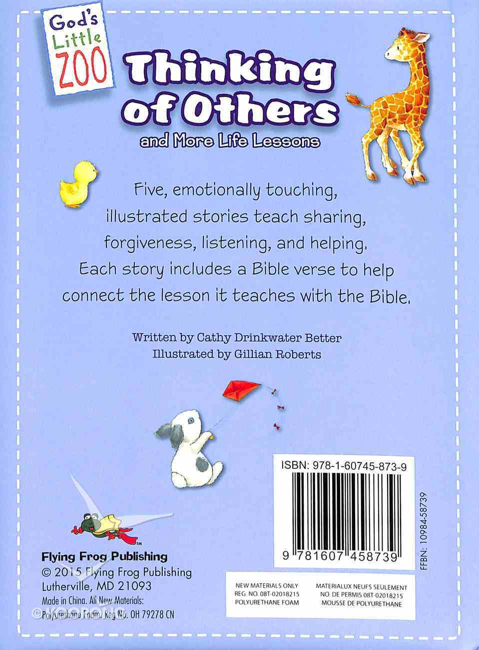 God's Little Zoo: Thinking of Others Board Book
