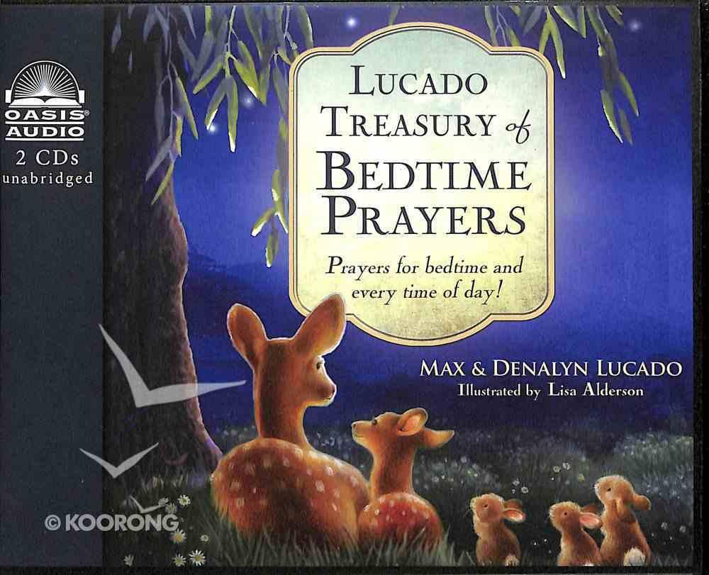 Lucado Treasury of Bedtime Prayers (Unabridged, 2 Cds) CD