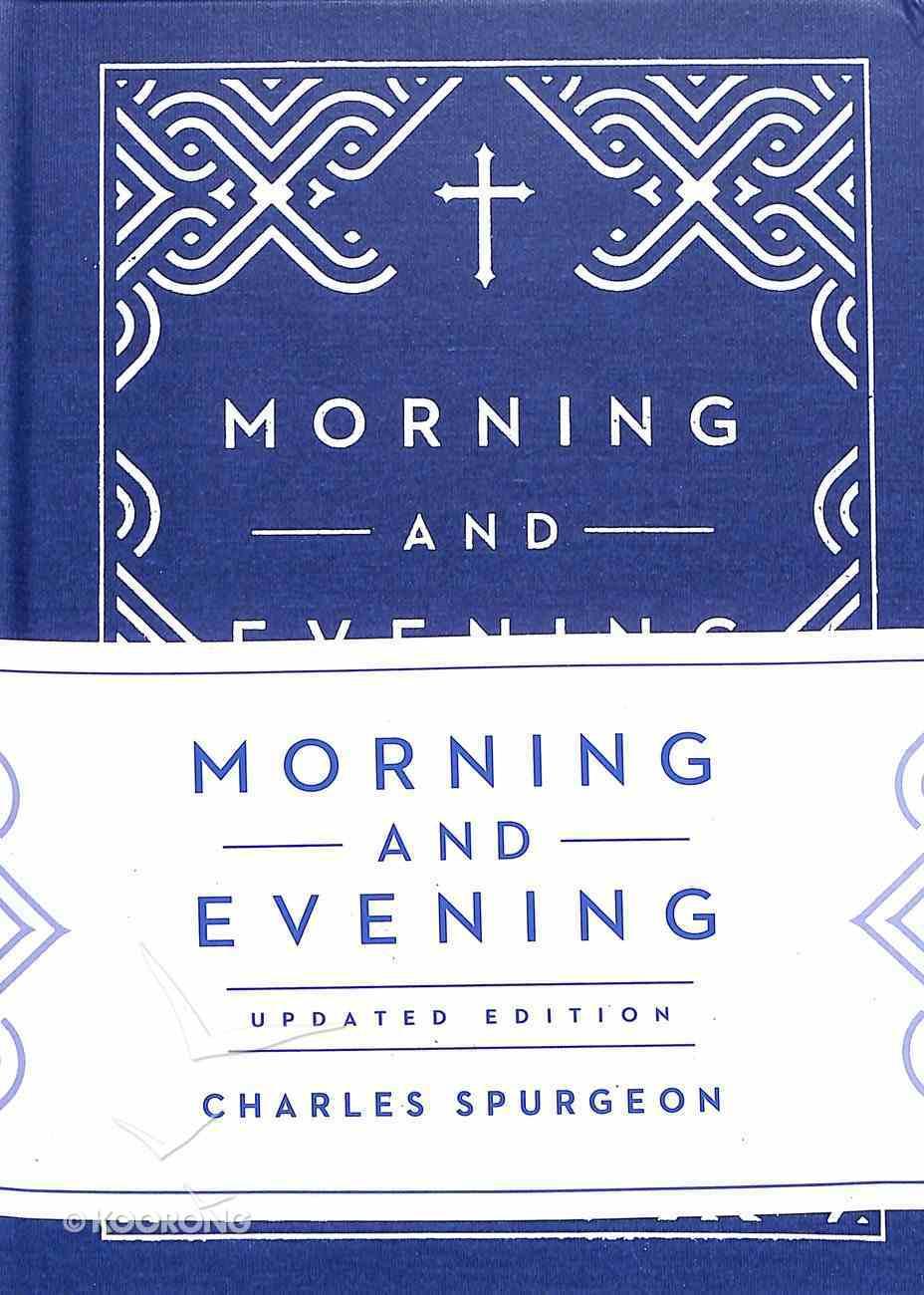 Morning and Evening Hardback