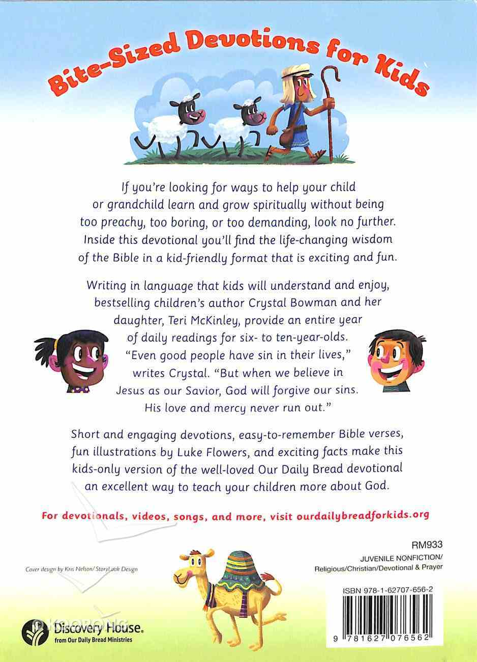 365 Meaningful Moments With God (Our Daily Bread For Kids Series) Paperback