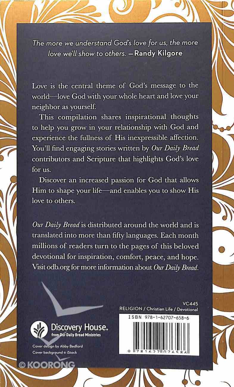 Love (Our Daily Bread Devotional Series) Paperback