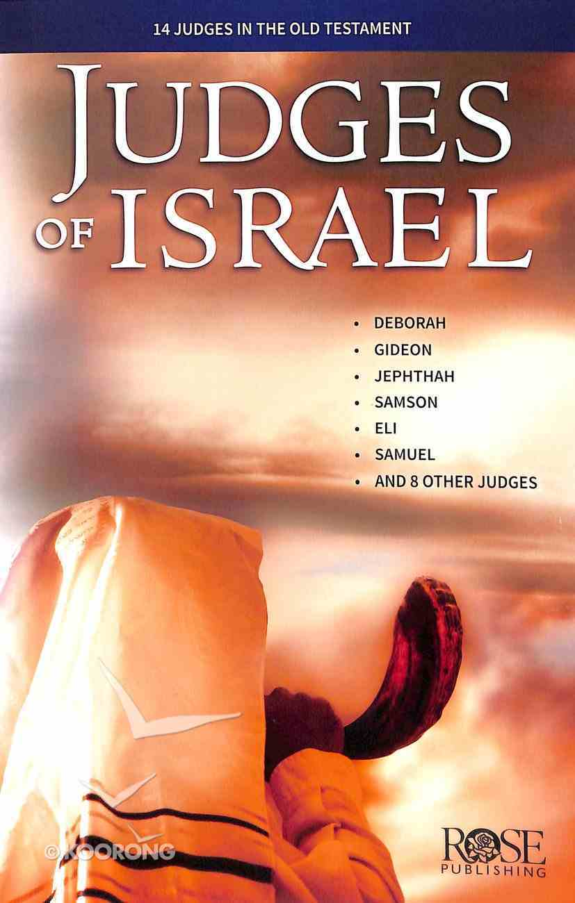 Judges of Israel - 14 Judges in the Old Testament (Rose Guide Series) Pamphlet