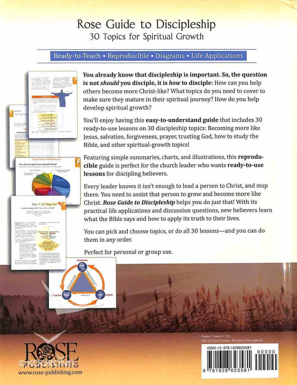 Rose Guide to Discipleship Hardback