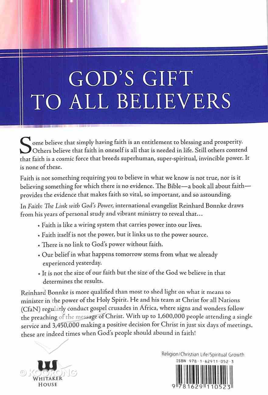 Faith - the Link With God's Power Paperback