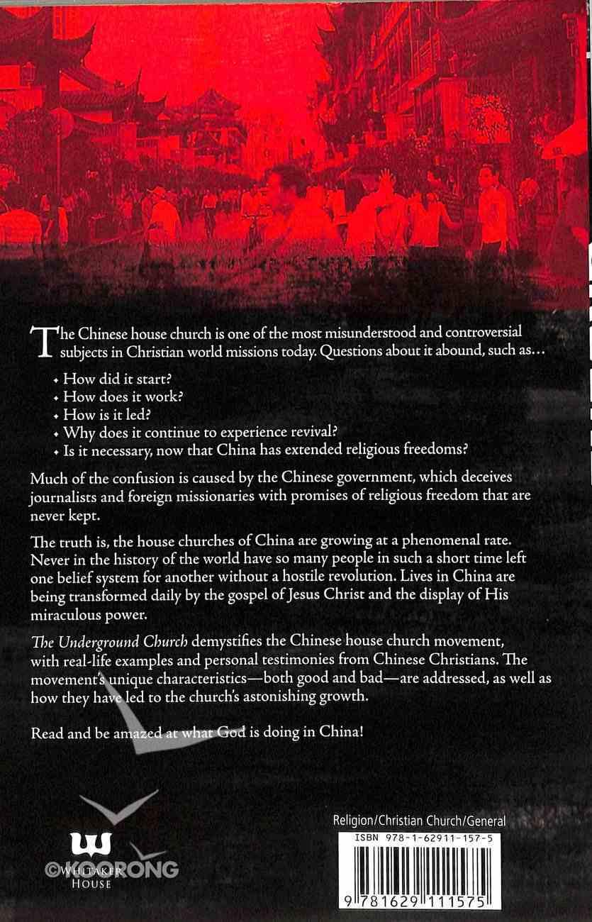 Underground Church Paperback