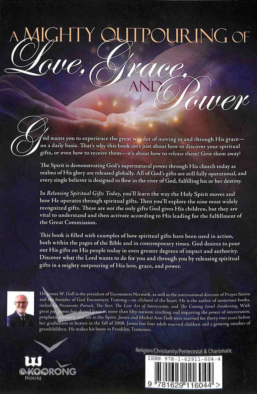 Releasing Spiritual Gifts Today Paperback