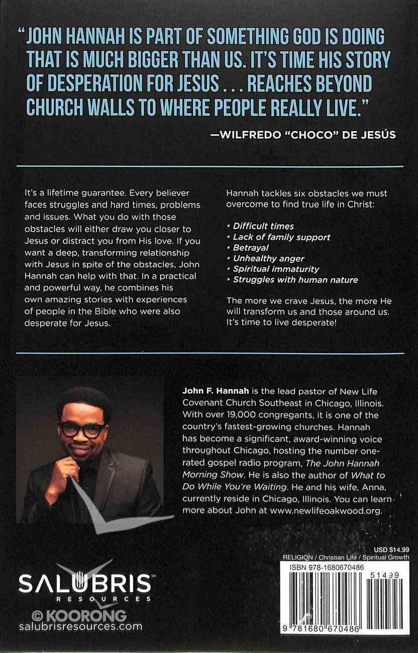 Desperate For Jesus Paperback