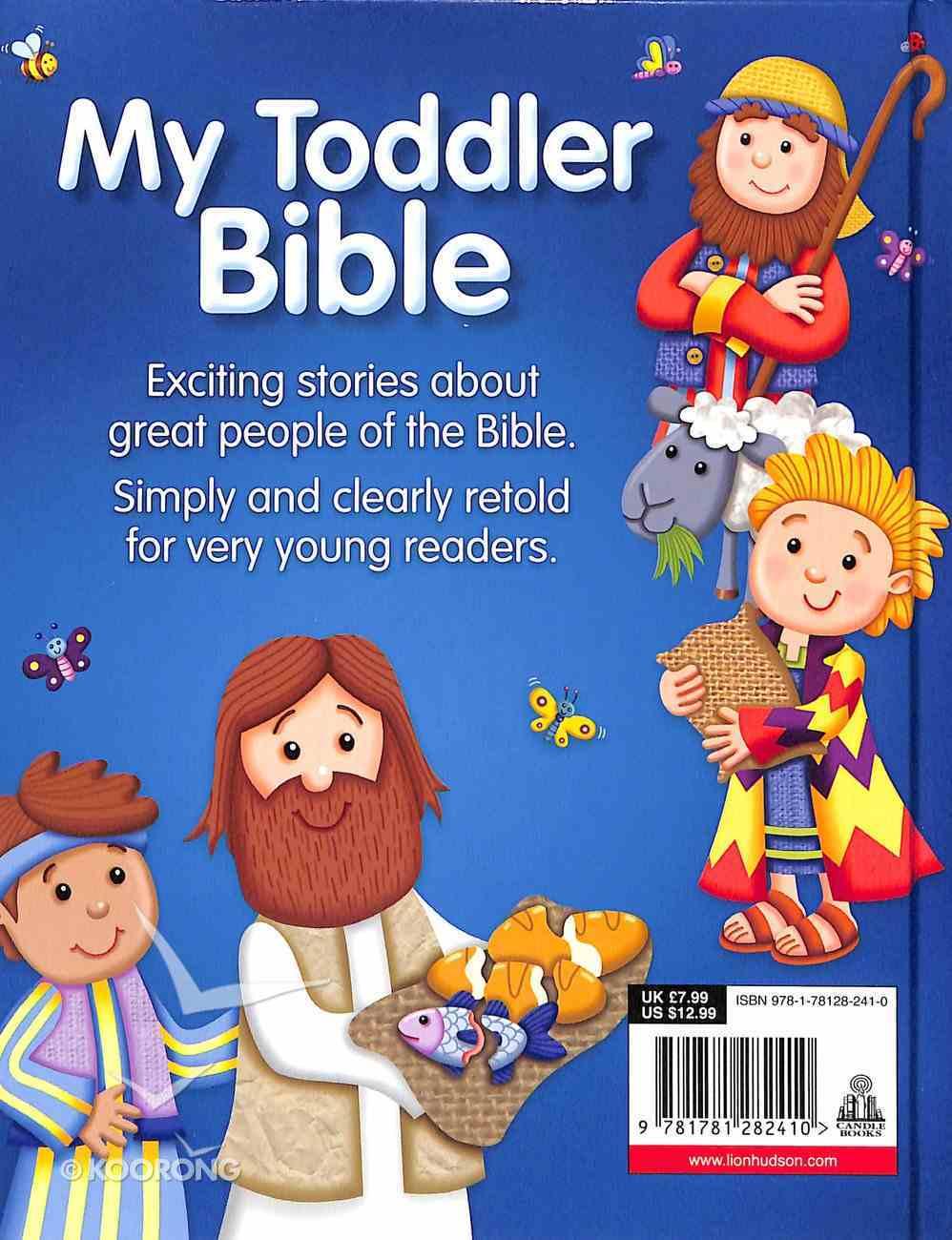 My Toddler Bible Padded Hardback