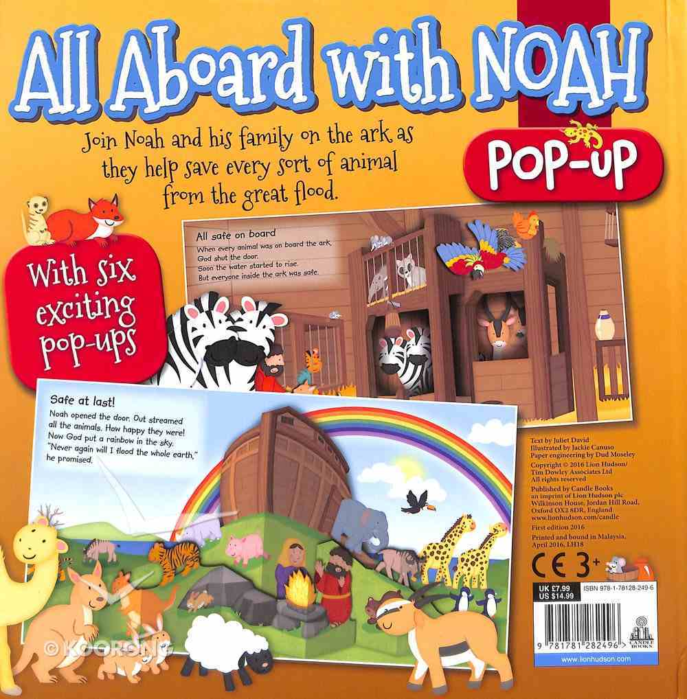 All Aboard With Noah Board Book