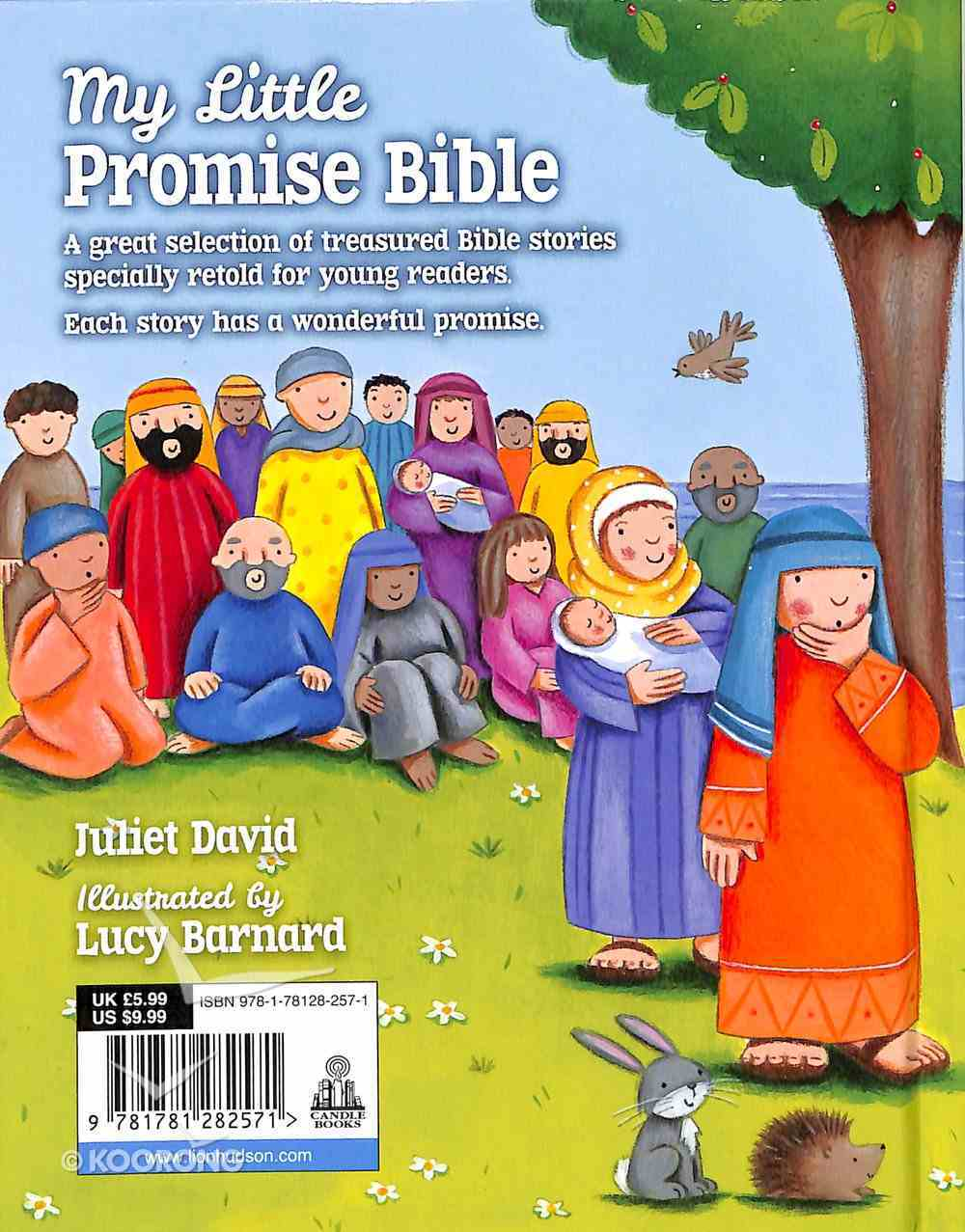 My Little Promise Bible Board Book