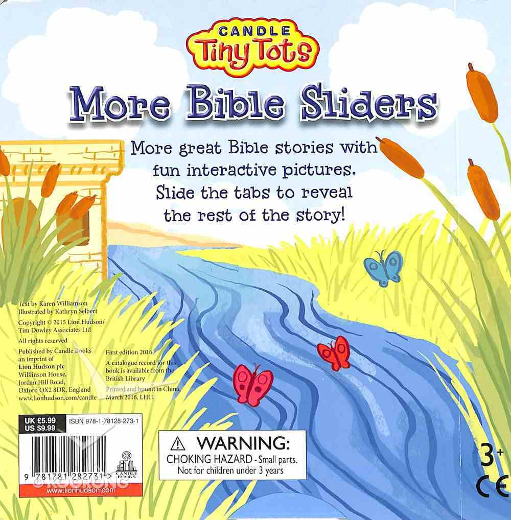 More Bible Sliders (Candle Tiny Tots Series) Board Book